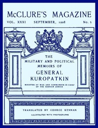 Cover of the book McClure's Magazine, Vol. XXXI, September 1908, No. 5 by Various