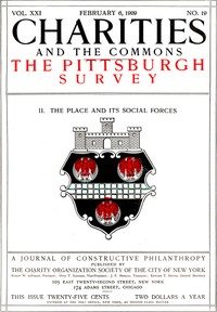 Cover of the book Charities and the Commons: The Pittsburgh Survey, Part II: The Place by Various