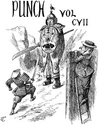 Cover of the book Punch, or the London Charivari Volume 107, August 25, 1894 by Various