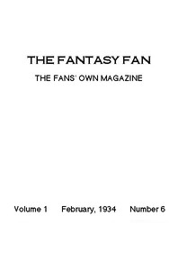Cover of the book The Fantasy Fan February 1934 by Various