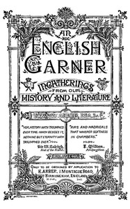 Cover of the book An English Garner (4 of 8) by Various