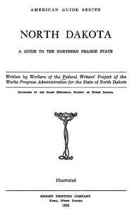 Cover of the book North Dakota by Various
