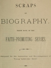 Cover of the book Scraps of Biography by Various