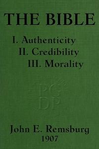 Cover of the book The Bible by John E. (John Eleazer) Remsburg