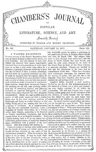 Cover of the book Chambers's Journal of Popular Literature, Science, and Art, No. 681 by Various