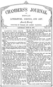 Cover of the book Chambers's Journal of Popular Literature, Science, and Art, No. 705, June 30, 1877 by Various