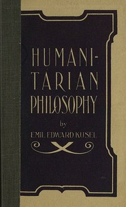 cover for book Humanitarian Philosophy, 4th Edition