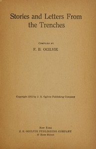 Cover of the book Stories and Letters From the Trenches by Various