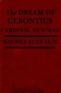 Cover of the book The Dream of Gerontius by John Henry Newman