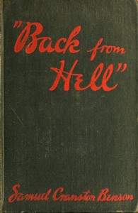 Cover of the book Back From Hell by Samuel Benson