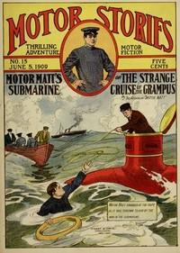 cover for book Motor Matt's Submarine