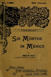 cover for book Six Months in Mexico