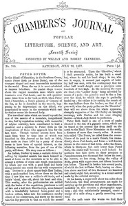 Cover of the book Chambers's Journal of Popular Literature, Science, and Art, No. 709 by Various