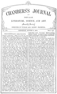 Cover of the book Chambers's Journal of Popular Literature, Science, and Art, No. 710 by Various