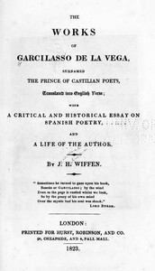 cover for book The Works of Garcilaso de la Vega