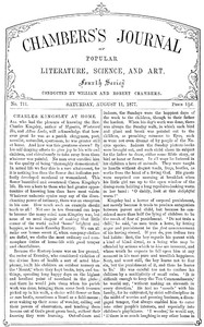 Cover of the book Chambers's Journal of Popular Literature, Science, and Art, No. 711, August 11, 1877 by Various