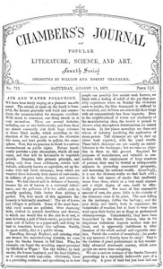 Cover of the book Chambers's Journal of Popular Literature, Science, and Art, No. 712 by Various