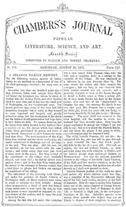 Cover of the book Chambers's Journal of Popular Literature, Science, and Art, No. 713, August 25, 1877 by Various