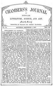 Cover of the book Chambers's Journal of Popular Literature, Science, and Art, No. 714 by Various