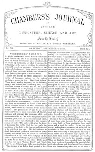 Cover of the book Chambers's Journal of Popular Literature, Science, and Art, No. 715 by Various