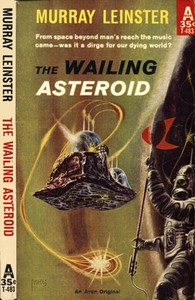 Cover of the book The Wailing Asteroid by Murray Leinster