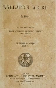 cover for book Wyllard's Weird