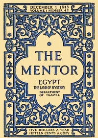 cover for book The Mentor: Egypt, The Land of Mystery, Serial No. 42
