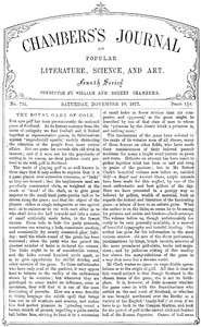 Cover of the book Chambers's Journal of Popular Literature, Science, and Art, No. 724 by Various