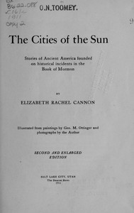 cover for book The Cities of the Sun