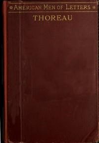 cover for book Henry D. Thoreau