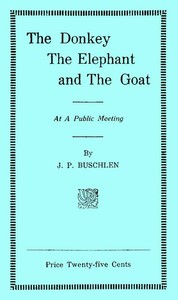 cover for book The Donkey, the Elephant, and the Goat