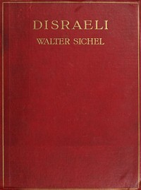 Cover of the book Disraeli by Walter Sydney Sichel