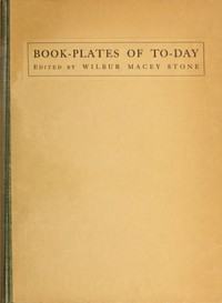 Cover of the book Book-plates of To-day by Various