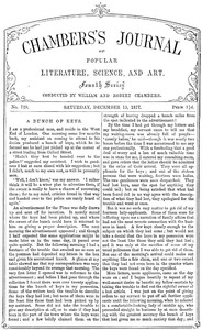 Cover of the book Chambers's Journal of Popular Literature, Science, and Art, No. 729, December 15, 1877 by Various