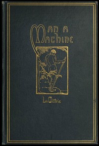 Cover of the book Man a Machine by Julien Offray de la Mettrie
