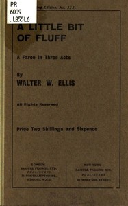 Cover of the book A Little Bit of Fluff by Walter W. Ellis