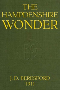 Cover of the book The Hampdenshire Wonder by J. D. (John Davys) Beresford