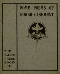 Cover of the book Some Poems of Roger Casement by Roger Casement