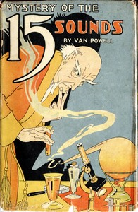 Cover of the book The Mystery of the Fifteen Sounds by Van Powell