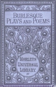 Cover of the book Burlesque Plays and Poems by John Philips
