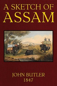 Cover of the book A Sketch of Assam by John James Butler