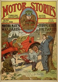 cover for book Motor Matt's Mandarin; or, Turning a Trick for Tsan Ti