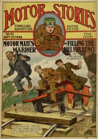 cover for book Motor Matt's Mariner; or, Filling the Bill for Bunce