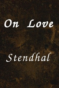 Cover of the book On Love by Stendhal