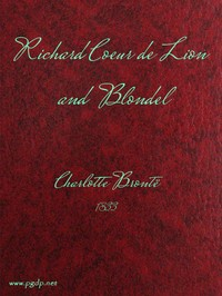 cover for book Richard Coeur de Lion and Blondel