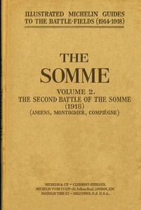 cover for book The Somme, Volume 2. The Second Battle of the Somme (1918)
