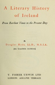 cover for book A Literary History of Ireland
