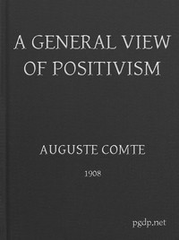 cover for book A General View of Positivism