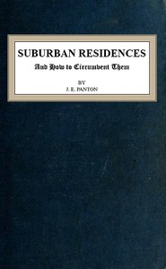 cover for book Suburban Residences