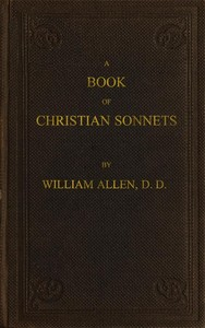 cover for book A Book of Christian Sonnets